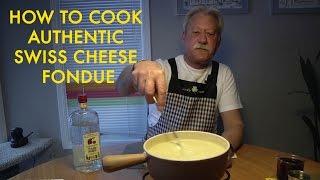 How to Make a Swiss Gruyere Cheese Fondue
