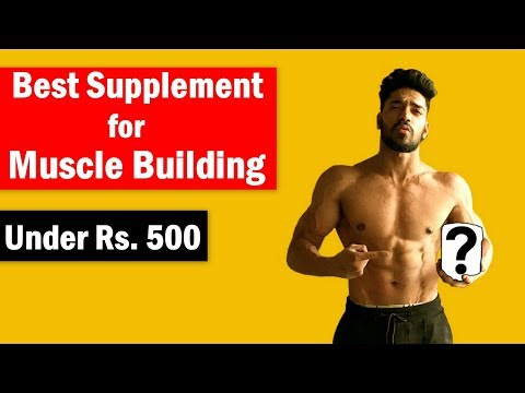 No.1 Muscle Building Supplement for bodybuilding India - Under Rs. 500