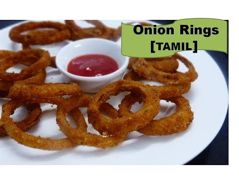 How to make Onion Rings at Home | Quick snack for kids |Deepstamilkitchen