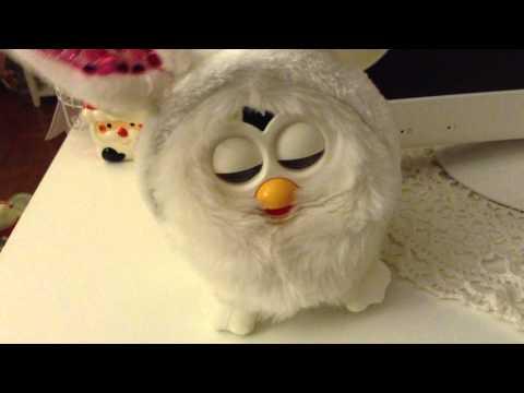 Snowbell Furby Sleep