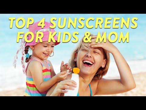 Top 4 Sunscreens for Kids & Mom | CloudMom