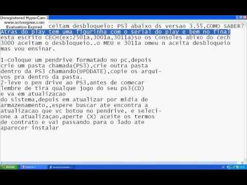 Como desbloquear PS3 na CFW 4.50 Rogero - PT-BR
