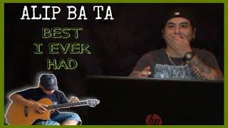 ALIP_BA_TA | BEST I EVER HAD - VERTICAL HORIZON | FINGERSTYLE COVER | REACTION