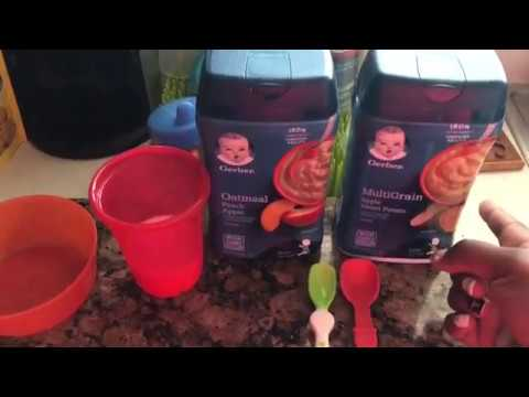 How to prepare Gerber Infant Oatmeal