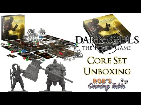 Dark Souls: The Board Game Unboxing