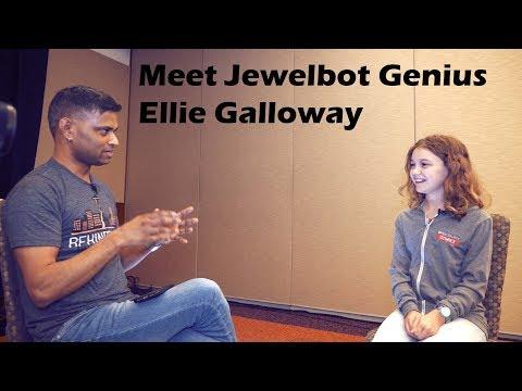 Meet the 11-year old Jewelbot GENIUS @ Red Hat Summit