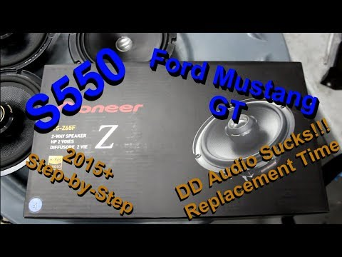 Ford Mustang DD Audio 6.5