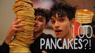 100 LAYERS OF PANCAKES!