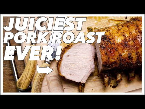 Juicy Roast Rack of Pork Recipe || Le Gourmet TV Recipes