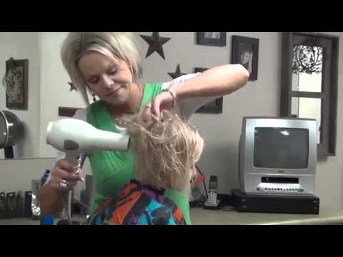 Little Girls Long Hair    Cut and Style Short Hair Tutorial