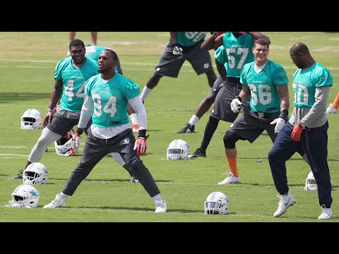 Video: Miami Dolphins defensive end Andre Branch