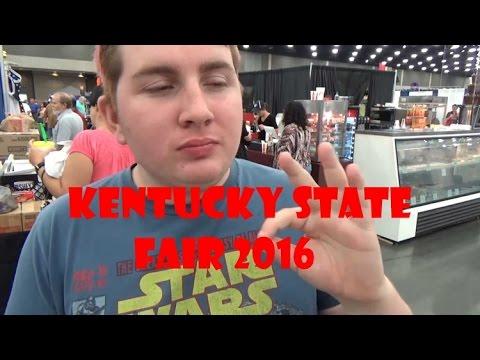 Doughnut Burgers and Rigged Games! || Kentucky State Fair 2016