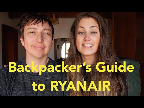 Backpacker's Guide to RYANAIR