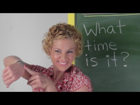 What Time Is It Teacher? ESL game - English Language Games