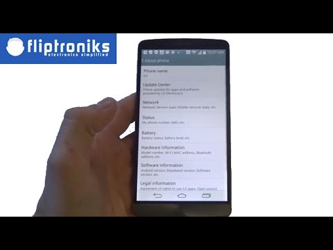How To Find IMEI Number On The LG G3 - Fliptroniks.com