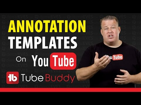 How to Create YouTube Video Annotations Templates