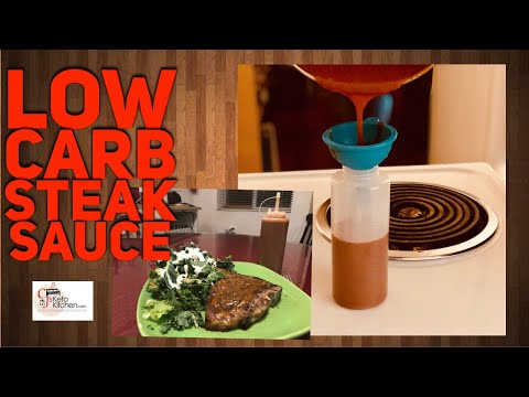 Low Carb Steak Sauce | Zero Sugar | Keto Safe