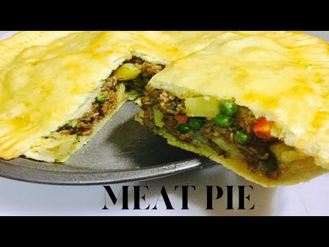 Meat Pie - How To Make Meat Pie - Dough & Filling