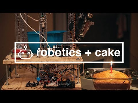 How to Build a Cake Baking Robot