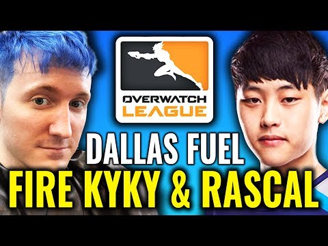 KyKy & Rascal RELEASED by DALLAS FUEL [Overwatch League News & Highlights]
