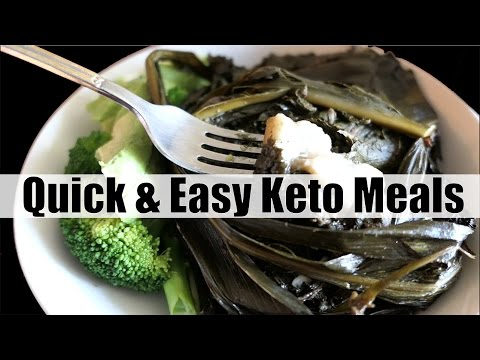 Quick and Easy Ketogenic Diet Meals | What I Eat in a Day During a Busy Work Day