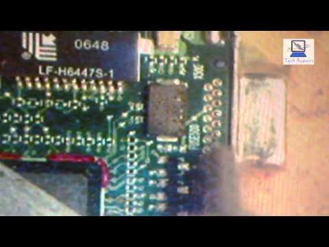 Laptop VGA socket Repair