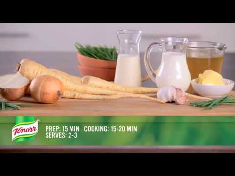 Knorr UK -  Curried Parsnip Soup