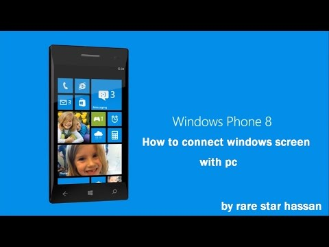 How To Connect Windows Phone Screen With PC (Computer)