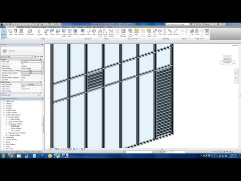 Revit Tips - Easy Louver Window Making