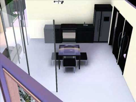 how to make a modern mansion in sims 3