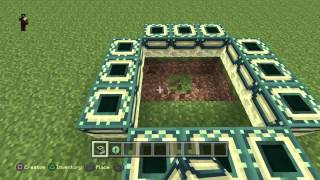 Minecraft Ps4 How To Build The End Portal