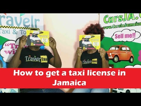 How to Get a Taxi License in Jamaica | CarsJa.Co 3