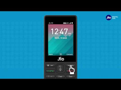 JioCare - How To Manage Jio Account & Services using MyJio App on JioPhone (Bengali) | Reliance Jio