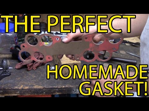 ProTip! Custom/Homemade gaskets with perfect holes on the cheap!