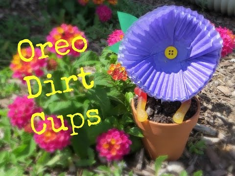 Oreo Pudding Dirt Cups