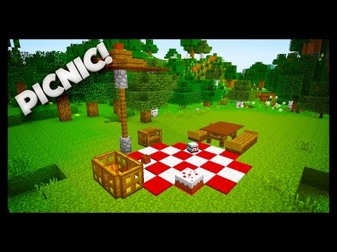 Minecraft - How To Make A Picnic
