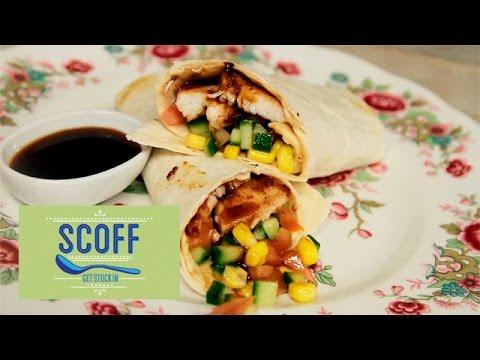 Sticky Hoisin Chicken Lettuce Wraps | Asian Bites