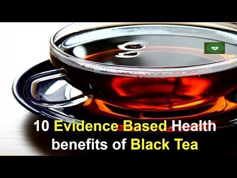 10 Evidence Based Health benefits of Black Tea