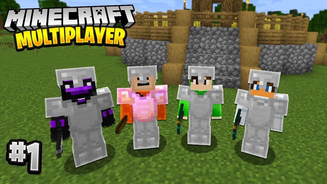 A NEW WORLD in Minecraft Multiplayer Survival! (Episode 1)