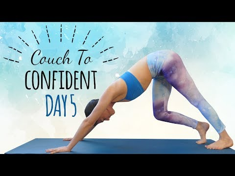 Yoga for Hips & Splits Flexibility ♥ Day 5 of 14, 30 Minute Beginners Class, At Home, How To