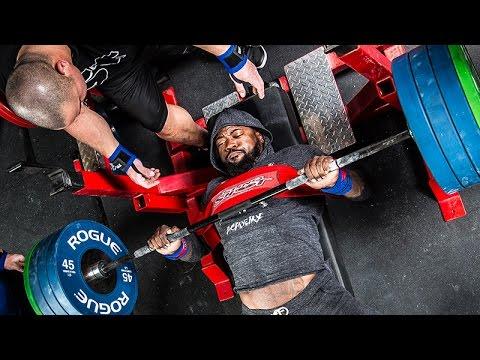 Lifting Like Lions with Mike Rashid: Bench Workout and Tips
