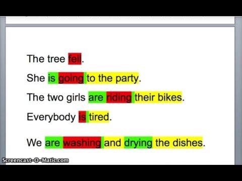 Identifying Main Verbs