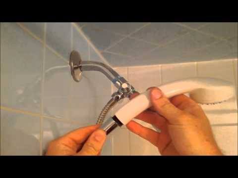 How To Install A Handheld Shower