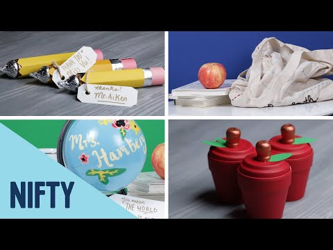 5 Easy DIY Gifts For Teachers