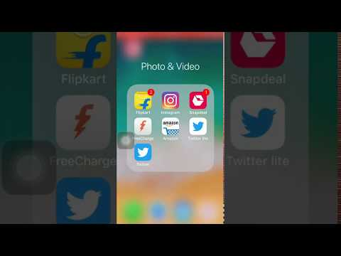 How To Nest Folders and Apps on iPhone, iPad in iOS 11