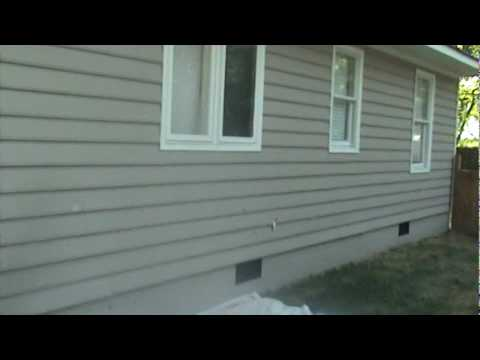 Siding and Brick Color Change Before