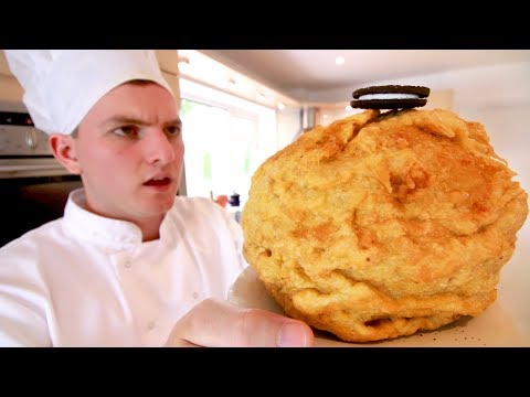 World's Largest DEEP FRIED OREO | Chef Pete