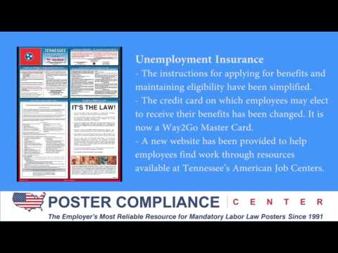Tennessee Labor Law Poster Update