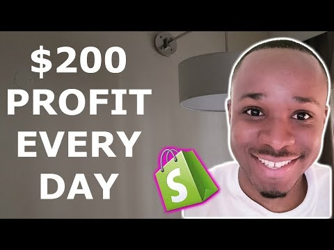 $200 PROFIT Every Single Day Dropshipping on Shopify 🙀