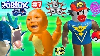 ROBLOX RAGE #7:  POKEMON GO KISSER!! WILD GYARADOS!!!  w/ Chase & Duddy (FGTEEV Gameplay)